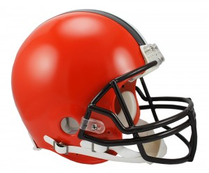 Cleveland Browns Authentic Full Size Helmet NEW 2015