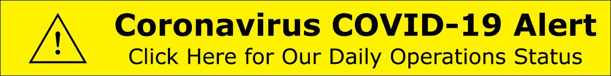 Coronavirus COVID-19 Alert Our Daily Operations Status