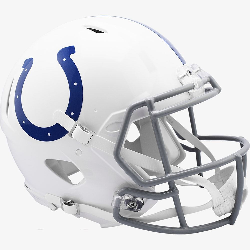 Indianapolis Colts 2020 Riddell Full Size Authentic Speed Helmet