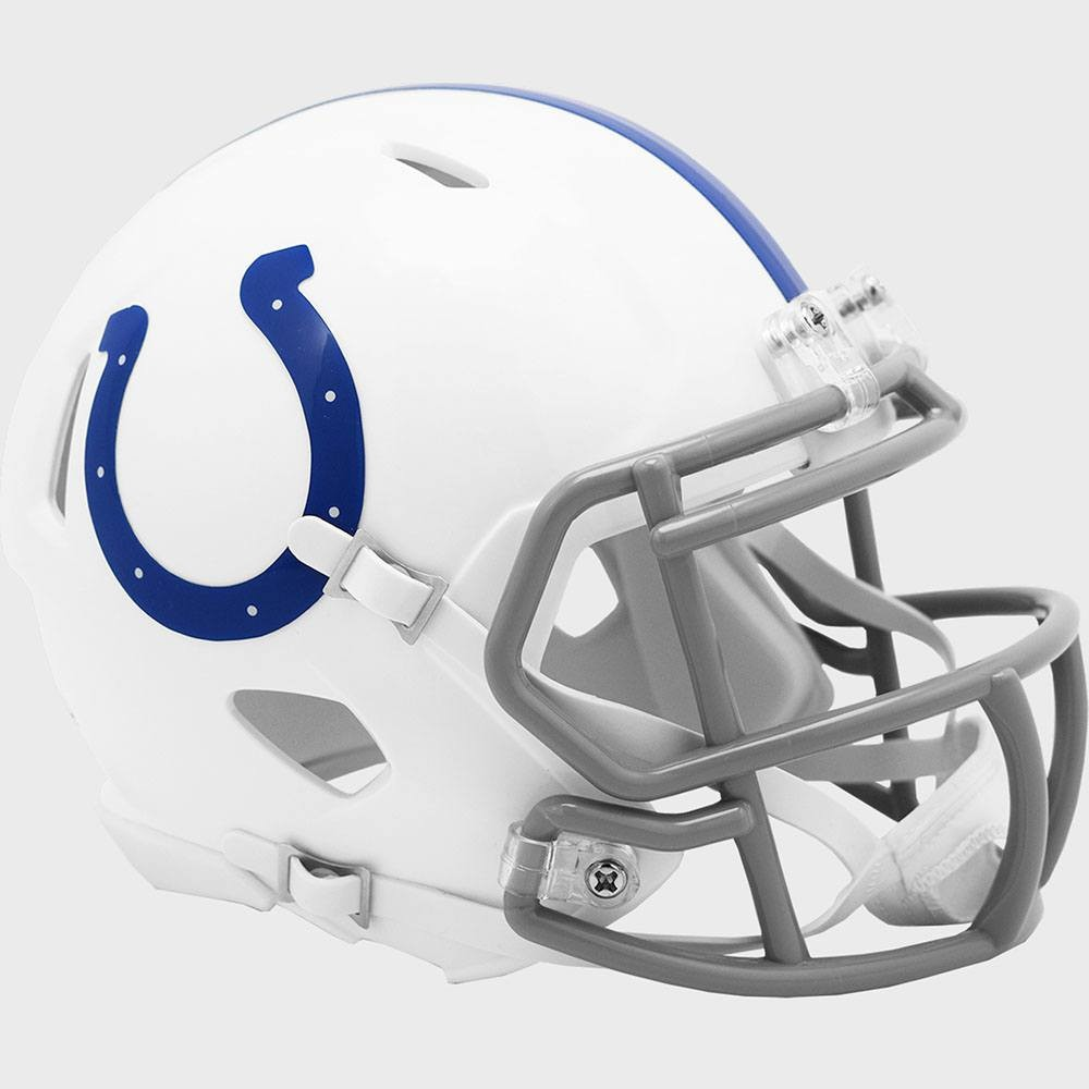 Indianapolis Colts 2020 Riddell Mini Speed Helmet