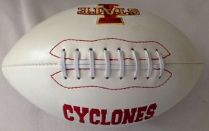 Iowa St Cyclones K2 Signature Series Full Size Football