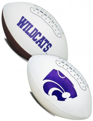 Kansas St Wildcats K2 Signature Series Full Size Football