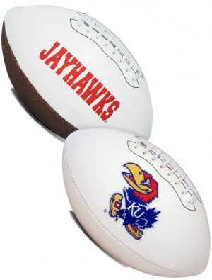 Kansas Jayhawks K2 Signature Series Full Size Football
