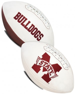 Mississippi St Bulldogs K2 Signature Series Full Size Football