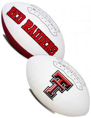 Texas Tech Red Raiders K2 Signature Series Full Size Football