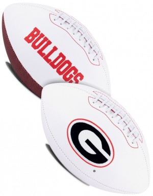 Georgia Bulldogs K2 Signature Series Full Size Football
