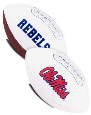 Ole Miss Rebels K2 Signature Series Full Size Football