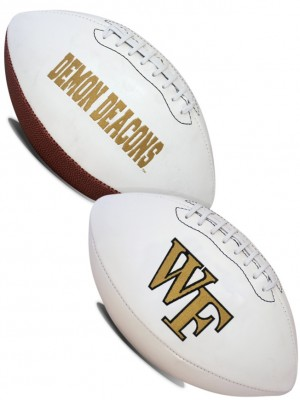 Wake Forest Demon Deacons K2 Signature Series Full Size Football