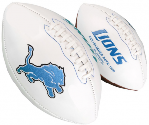 Rawlings NFL Detroit Lions Signature Series Full Size Football