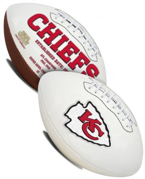Kansas City Chiefs K2 Signature Series Full Size Football