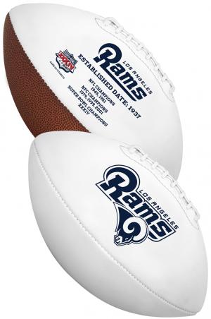 Rawlings NFL Los Angeles Rams Signature Series Full Size Football