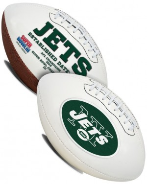 New York Jets K2 Signature Series Full Size Football