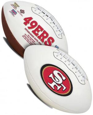 San Francisco 49ers K2 Signature Series Full Size Football