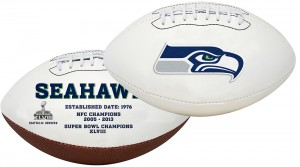 Seattle Seahawks K2 Signature Series Full Size Football