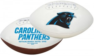 Carolina Panthers K2 Signature Series Full Size Football