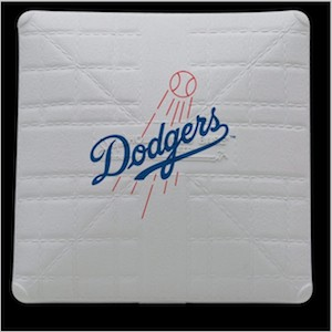 Los Angeles Dodgers Jack Corbett Hollywood Authentic Full Size Base