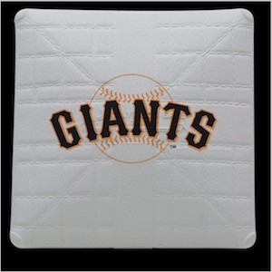 San Francisco Giants Jack Corbett Hollywood Authentic Full Size Base