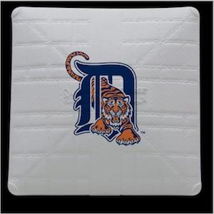Detroit Tigers Jack Corbett Hollywood Authentic Full Size Base