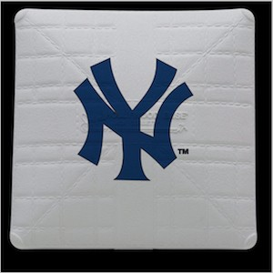 New York Yankees Jack Corbett Hollywood Authentic Full Size Base