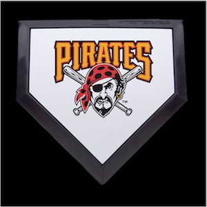 Pittsburgh Pirates Authentic Full Size Home Plate