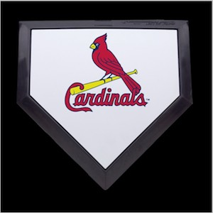 Saint Louis Cardinals Authentic Full Size Home Plate