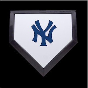 New York Yankees Authentic Full Size Home Plate