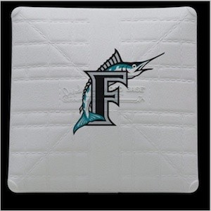 Florida Marlins Authentic Mini Base