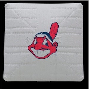 Cleveland Indians Authentic Mini Base
