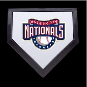 Washington Nationals Authentic Mini Home Plate
