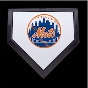 New York Mets Authentic Mini Home Plate