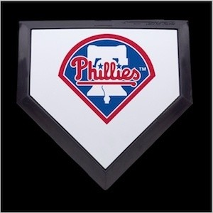 Philadelphia Phillies Authentic Mini Home Plate