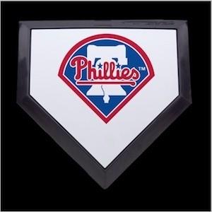 Philadelphia Phillies Authentic Mini Home Plate