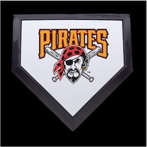 Pittsburgh Pirates Authentic Mini Home Plate