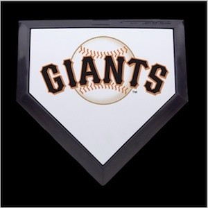 San Francisco Giants Authentic Mini Home Plate