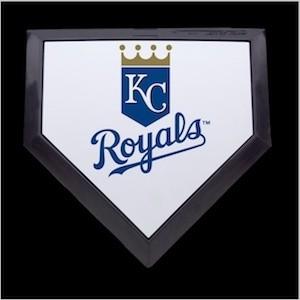 Kansas City Royals Authentic Mini Home Plate