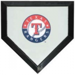 Texas Rangers Authentic Mini Home Plate