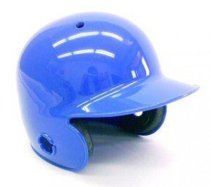 Royal Blue Blank Customizable Authentic Mini Batting Helmet Shell