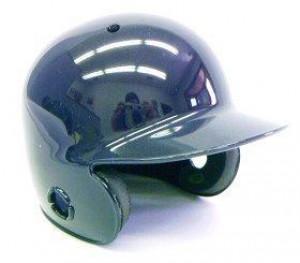 Navy Blank Customizable Authentic Mini Batting Helmet Shell