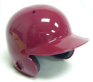 Cardinal Blank Customizable Authentic Mini Batting Helmet Shell