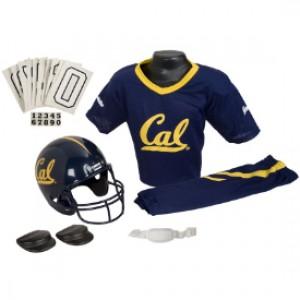 Cal Berkeley Golden Bears Kids (Ages 4-6) Small Replica Deluxe Uniform Set