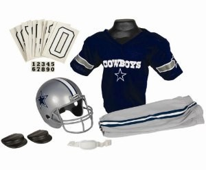 Dallas Cowboys Kids (Ages 7-9) Medium Replica Deluxe Uniform Set