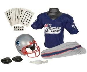 New England Patriots Kids (Ages 7-9) Medium Replica Deluxe Uniform Set