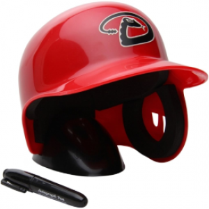 Rawlings MLB Arizona Diamondbacks Replica Mini Batting Helmet