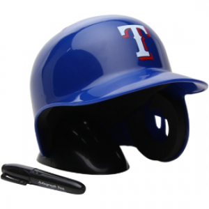 Rawlings MLB Texas Rangers Replica Mini Batting Helmet