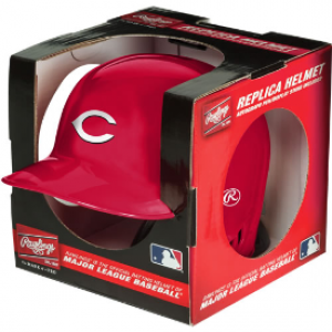 Rawlings MLB Cincinnati Reds Replica Mini Batting Helmet