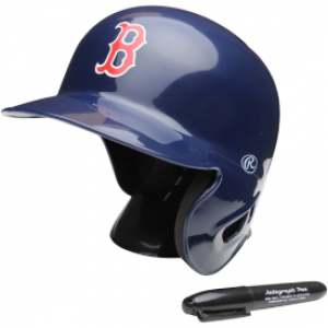 Rawlings MLB Boston Red Sox Replica Mini Batting Helmet