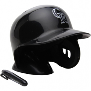 Rawlings MLB Colorado Rockies Replica Mini Batting Helmet