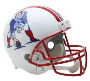 New England Patriots 1990-1992 Throwback Replica Full Size Helmet