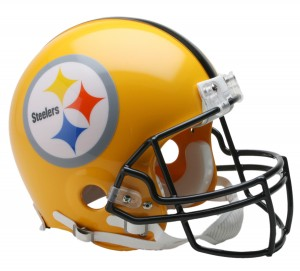 Pittsburgh Steelers 1962 75th Anniv Throwback Replica Mini Helmet