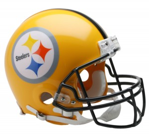 Pittsburgh Steelers 1962 75 Anniv Throwback Authentic Full Size Helmet